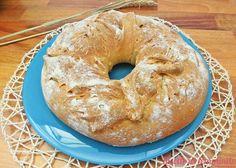 Ciambella di pane con mix di farine Bagel, Pizza, Bread, Food, Italian Cuisine, Brot, Essen, Baking, Meals