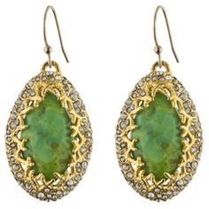 Gold Mojave Drop Earrings  by Alexis Bittar