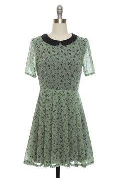 Peter Pan Collar Dress.