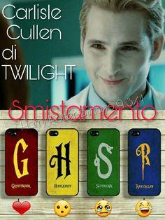 Adesso tocca a smistare #CarlisleCullen di #Twilight ⚡ Tocca a voi #CappelloParlante ⚡  ⚡Hermione⚡