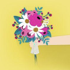 { Bom dia, pessoal! Hoje, eu comprei um buquê de flores para alegrar o meu quarto. Falando sobre flores, qual é a sua favorita? As minhas favoritas são margaridas e gerberas. - {Good morning, folks! Today, I bought a bunch of flowers to beautify my room. Talking about flowers, which one do u like most? My faves are daisies and gerberas.