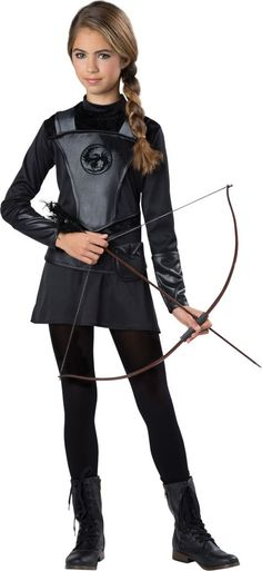 girls warrior huntress costume party city