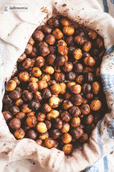 Domowa nutella » Jadłonomia Nutella, Vegan Treats, Vegan Food, Chana Masala, Healthy Snacks, Nom Nom, Sweet Tooth, Vegan Recipes, Paleo
