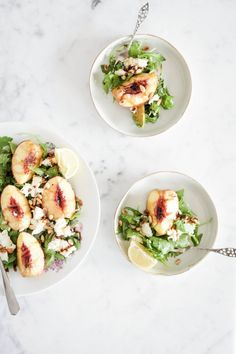 Peach salad | The Lifestyle Edit