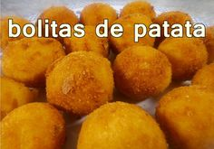 BOLITAS DE PAPA | recetas de cocina faciles rapidas y economicas | comid...