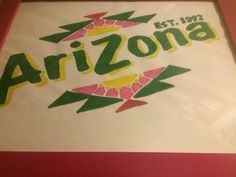 Arizona tea logo~Keegan Finley