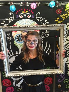 Day of the dead photo booth fun!