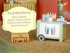 """3d table plan, modello """"Capri"""", tavolo """"La grattachecca"""""""
