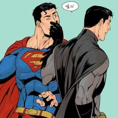 Batman never lies Superman X Batman, Bruno Diaz, Nananana Batman, Superbat, Cute Anime Guys, Comics Universe, Clark Kent, Dc Heroes, Nightwing