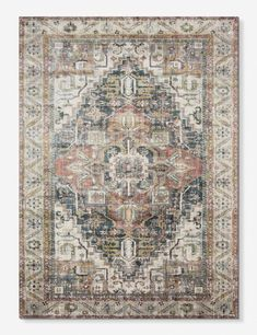 This rug's ornate design features traditional flora medallion motifs with a bordered pattern - a statement-making look we love in just about any room. The distressed finish creates a vintage-inspired appeal, while the power-loomed construction creates a d Decor, Carpet, Traditional Rugs, Rugs On Carpet, Vintage Rugs, Rugs, Medallion Motif, Rug Shopping, Rugs In Living Room