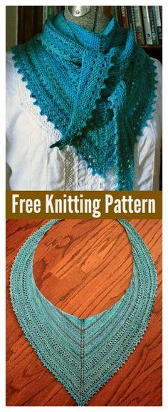 3S Shawl Free Knitting Pattern