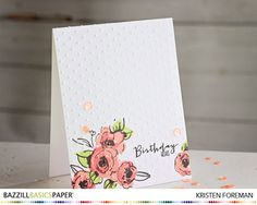 Gorgeous card by Kristen Foreman