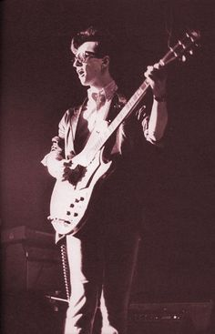 Johnny Marr: The Smiths live at Electric Ballroom, Camden, London on May 21, 1983.