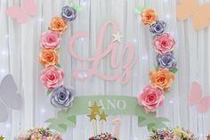 Como fazer rosa de papel {paper flower}