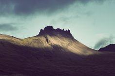 Iceland by Kim Høltermand, via Behance