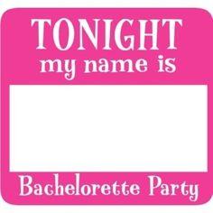 Bachelorette Party Games | Bachelorette Party Games / Fake names are super fun for a Bachelorette ...