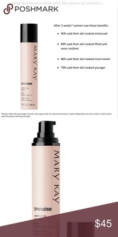 Mary Kay TimeWise Replenishing Serum+C Give collagen a boost.* Help skin bounce back. *Based on in vitro testing. Other customers have also bought TimeWise Firming Eye Cream which I have available as well! Mary Kay Makeup