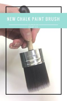 The New Cling On! paint brush the Chalk paint brush - Superior Paint Co. Chalk Paint Brushes, Hardware, Lipstick, Painting, Painting Art, Lipsticks, Paintings, Computer Hardware