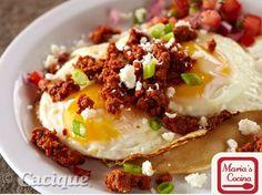 Chorizo with Fried Eggs