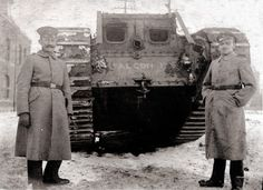 WW1 Tank- pretty sure these guys are german. Please correct me if I am wrong