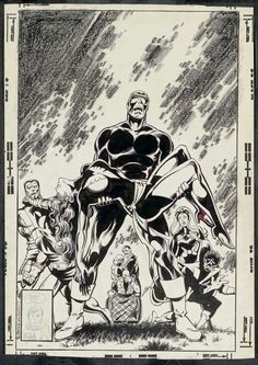 ryallsfiles: Uncanny X-Men 136 cover art by John Byrne and Terry Austin, where you can see that the seeds for Byrne's future in Star Trek comics were already planted. Comic Book Pages, Comic Page, Comic Book Artists, Comic Book Covers, Comic Book Characters, Comic Artist, Comic Books Art, Marvel Comic Universe, Marvel Art
