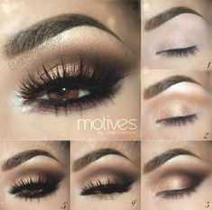 Eyeshadow Tutorial: Gold Smokey Eye | Eyeshadow For Brown Eyes | Makeup Tutorials Guide #Eyes https://inwomens.com/2018/04/13/eyeshadow-tutorial-gold-smokey-eye-eyeshadow-for-brown-eyes-makeup-tutorials-guide-2/