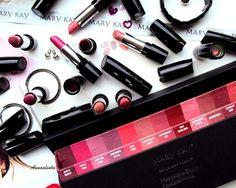 Mary Kay Gel Semi-Shine Lipstick \ Сияющая гелевая губная помада. Свотчи 13 новых оттенков.