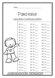 Math 2, Maths Algebra, Math Exercises, I Love Math, Niklas, Educational Games For Kids, Math Practices, Addition And Subtraction, Kindergarten Worksheets
