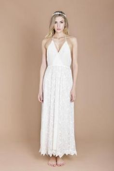 Boho wedding dress. Bridal Dresses by Minna.