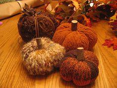 Ravelry: Fall Pumpkin pattern by Sarah Hawkins