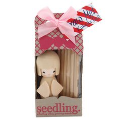 Colour Me Kokeshi Doll by Seedling.com