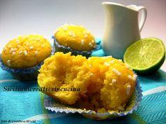 Muffin di mais e mandorle con miele e limone - Gluten free