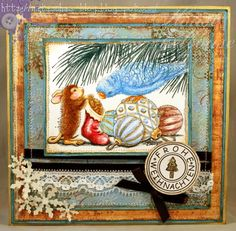 house mouse christmas cards | Nataschas Blog: House Mouse & Friends Monday Challenge #105