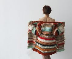 Caroline Kaufman : : excellent inspiration for collage crochet!