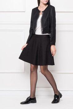 Dámska krátka čierna sukňa Skater Skirt, Chic, Skirts, Style, Fashion, Shabby Chic, Swag, Moda, Skirt