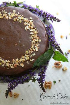 My Food Table: Bulgarian Garash Cake