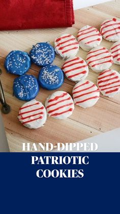 Easy July 4th Desserts, Fourth Of July Food, 4th Of July Celebration, 4th Of July Party, Party Treats, Party Snacks, Independence Day Drawing, Cookie Crush, Thumbprint Cookies