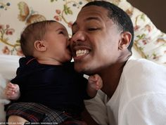 Nick Cannon and Daughter