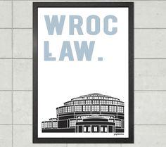 Wrocław | Hala Stulecia - plakat A2 - papierove - Wydruki cyfrowe