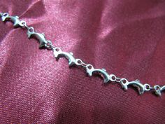 316L Surgical Stainless Steel 4mm Dolphin Link Bracelet