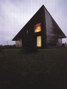 NORMAN JAFFE   LEICHTER HOUSE, BRIDGEHAMPTON NY, 1975