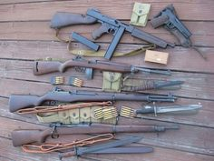 U.S. military weapons from WWll