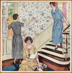 1923 Ad for Mina Taylor Dresses