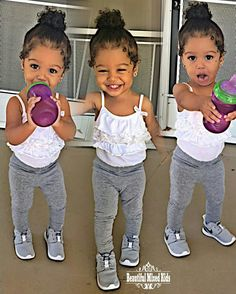 Maci - 18 Months • African American & Caucasian ❤ FOLLOW @beautifulmixedkids on instagram