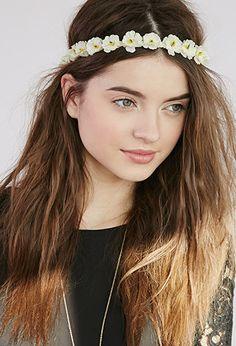 Mini-Floral Headband | Forever 21 - 1000054208