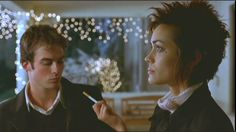 Ian Somerhalder and Shannyn Sossamon in The Rules of Attraction  (dream boy and dream girl)