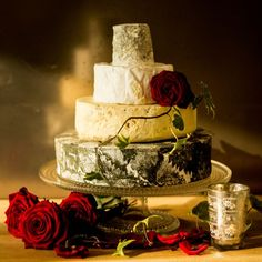 Hermione Cheese Wedding Cake