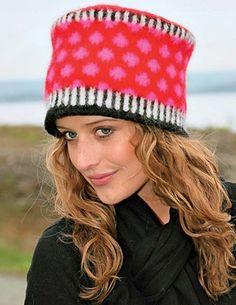 Strikkeopskrifter på de fineste huer og hatte til det kolde vejr