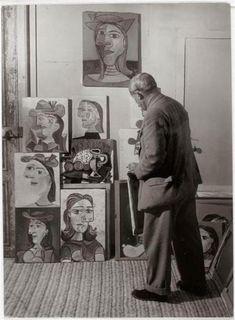 Dora Maar by Pablo Picasso   picasso et les portraits de dora maar, atelier des grands-augustins ...