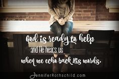 When we don't know what to pray, we can pray God's Word back to Him. Use these 4 Psalms to Pray God's Word back to Him.